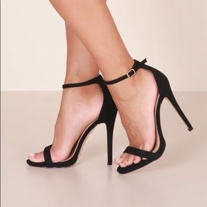 Ankle strap heels